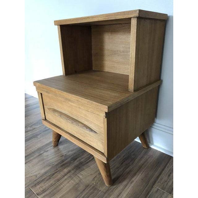 Mid Century Modern Side Table For Sale In Portland, ME - Image 6 of 6