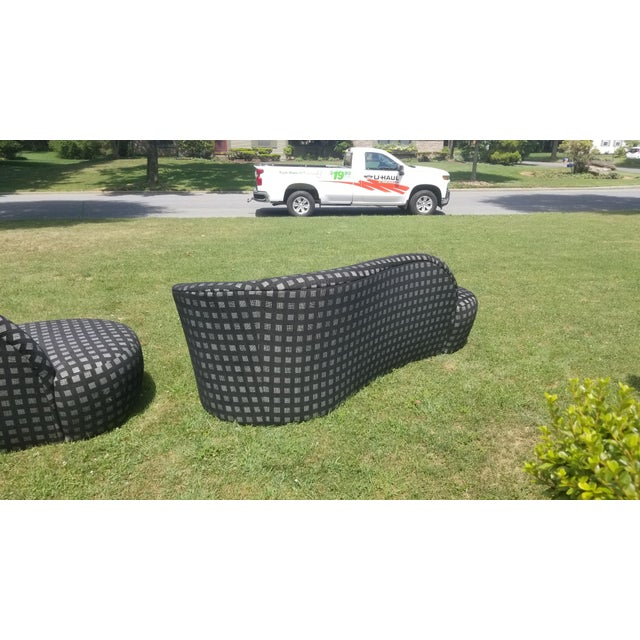 1990s 90's Vladimir Kagan Cloud Sofas - a Pair * Final Price * For Sale - Image 5 of 9