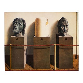 "1972 Rene Magritte, ""Eternity"" Original Photogravure For Sale"