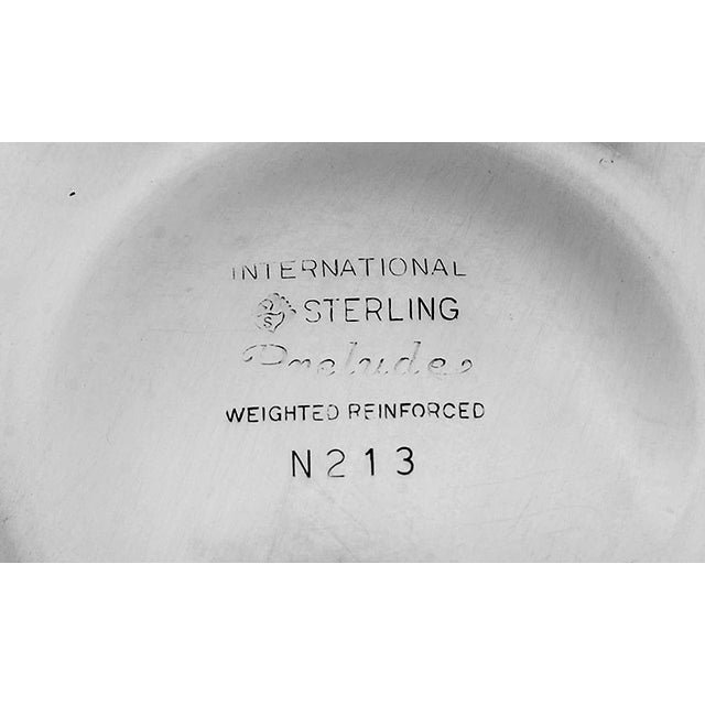 1930s International Silver Prelude-Plain Sterling Candlestick - a Pair For Sale In Greensboro - Image 6 of 7