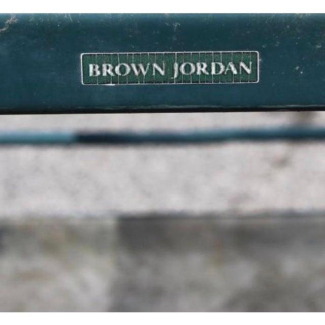 Award winning Richard Frinier designed this wonderful indoor outdoor bar cart for Brown Jordan, circa 1980s. Cast...