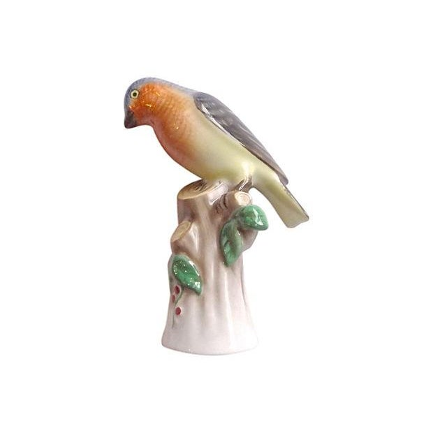 Vintage Herend Porcelain Wildbird Figurine - Image 4 of 8