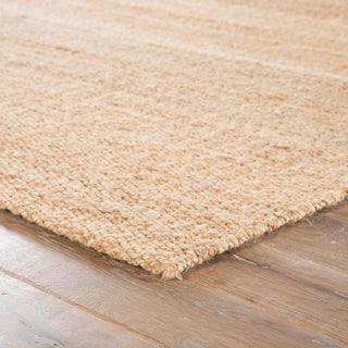 Jaipur Living Hutton Natural Solid Beige Area Rug - 5' X 8' Preview