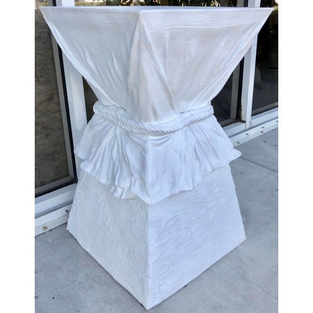 Large John Dickinson Style Pedestal For Sale In Miami - Image 6 of 8