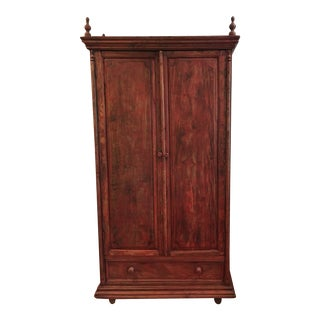 Rustic Farmhouse Wardrobe For Sale