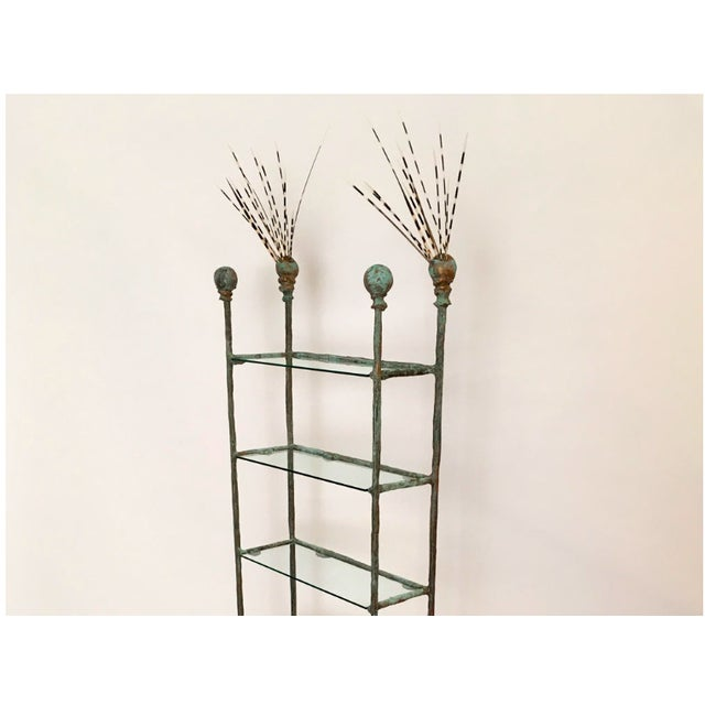 Contemporary Siobhan Curio Stack Etagere by Zuckerhosen For Sale - Image 3 of 7
