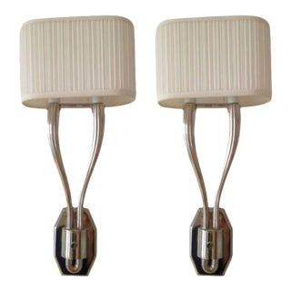 Louis Baldinger & Sons Double Wall Sconces - A Pair