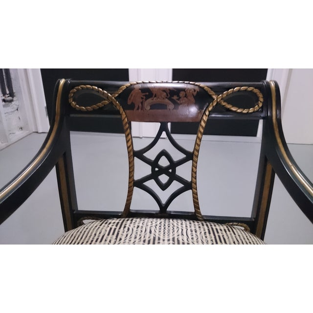 Lion's Paw Feet Side Chairs with Fretwork - A Pair - Image 4 of 6