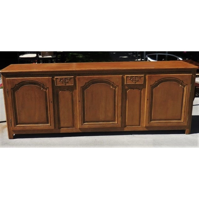 Baker Furniture Company Oak Country French Buffet - Image 2 of 5