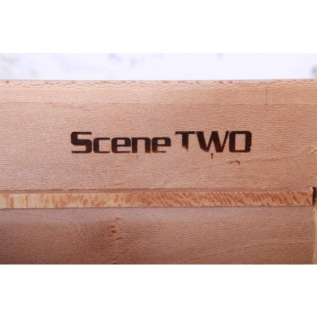 Milo Baughman Style Burl Wood Dresser or Credenza by Henredon For Sale - Image 12 of 13