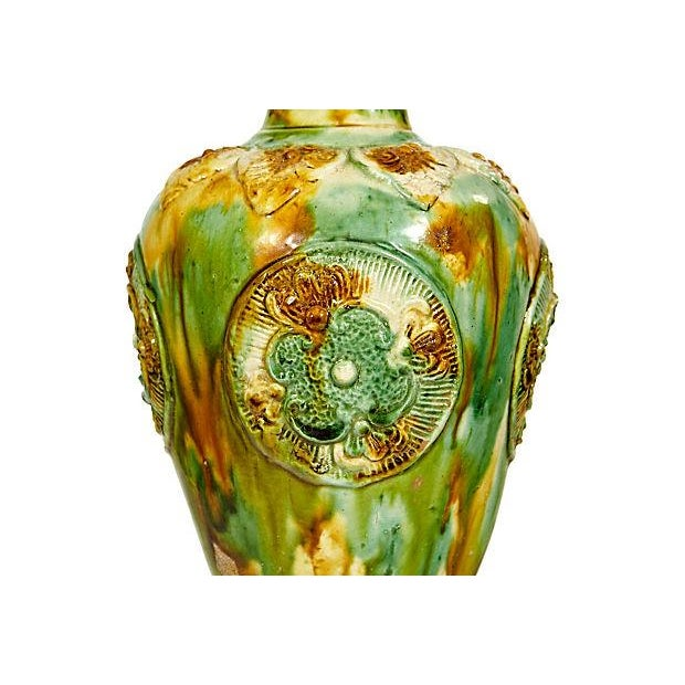 Multicolor Ceramic Vase - Image 2 of 3