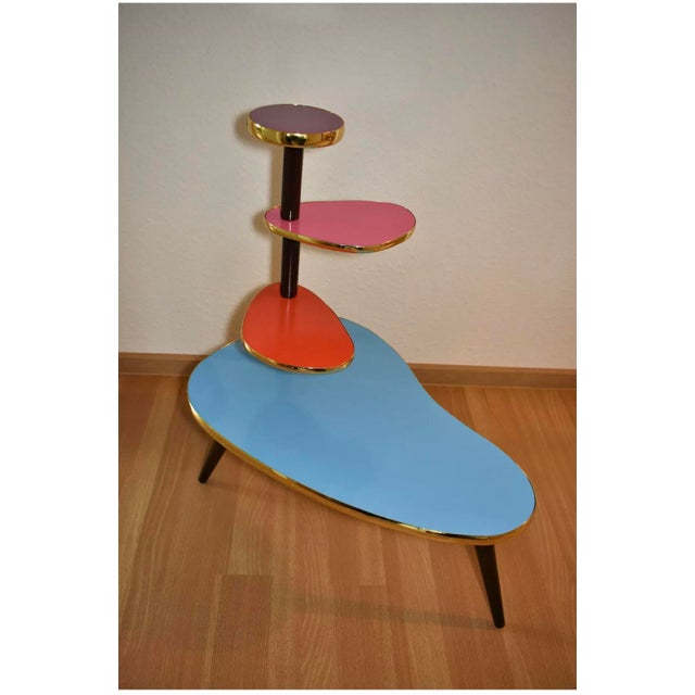 Mid 20th Century Vintage German Plant Stand For Sale - Image 5 of 12