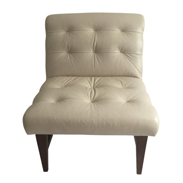 Mitchell Gold & Bob Williams Sergio Leather Chair - Image 1 of 6