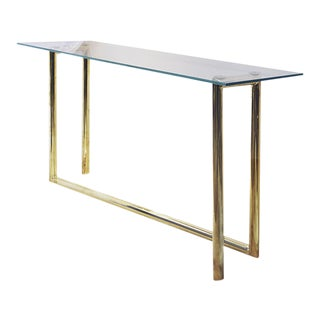 Pippa Gold Antique Style Pipes Console For Sale