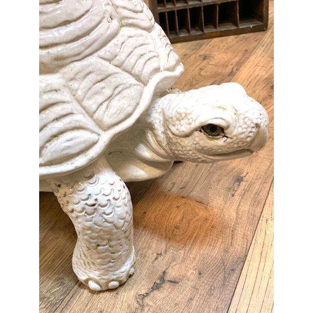 Mid 20th Century Mid Century Pair, Italian Turtle Garden Seats For Sale - Image 5 of 12