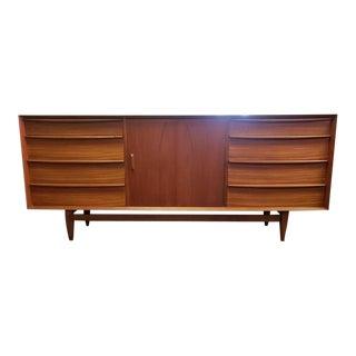 Mid-Century Modern Svend Madsen for Falster Mobelfabrik Teak Lowboy Dresser For Sale