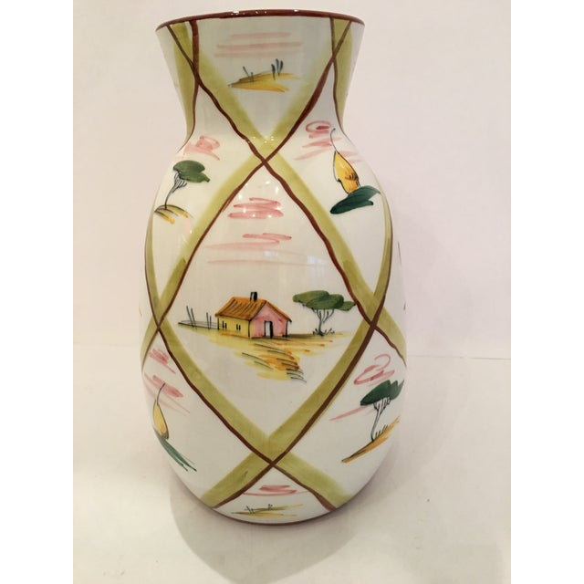 Italian Majolica Donkey Vase - Image 3 of 11