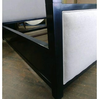 Mid-Century Modern Henredon Furniture Mark D. Sikes Pacific Palisades Queen Uph Canopy Bedframe Preview