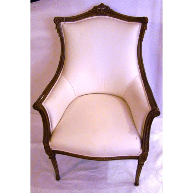 Vintage French-Style Club Chairs - A Pair - Image 3 of 9
