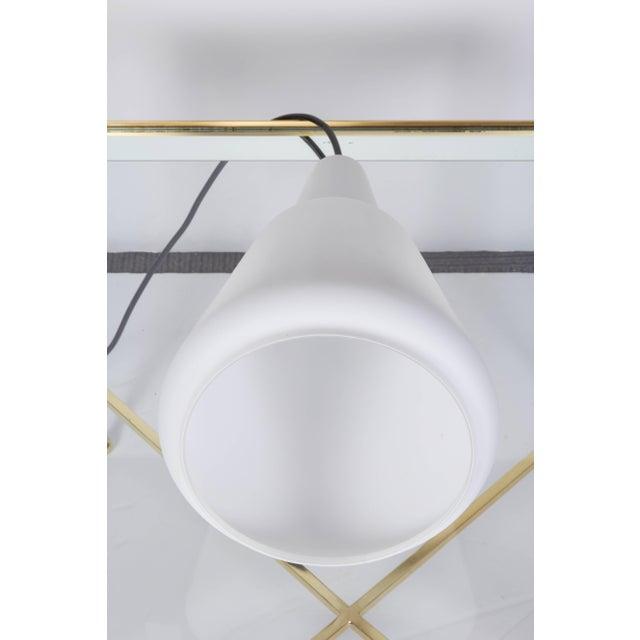 1950s Large Italian 1950s Case Glass Pendant Light For Sale - Image 5 of 10
