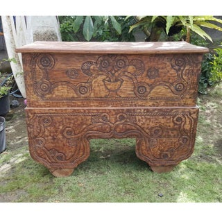 Antique Balinese Storage Trunk Preview