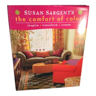 Susan Sargents the Comfort of Color Book For Sale