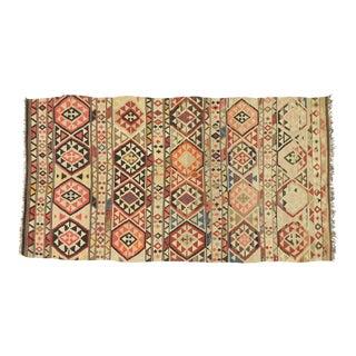 Vintage Afghani Kilim Rug - 05'05 X 10'00 For Sale