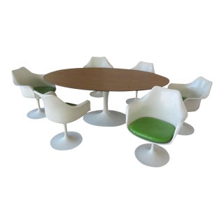 Aaron Saarinen Vintage Table and Tulip Chairs - Dining Set