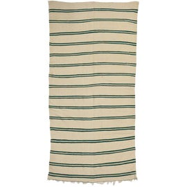 Image of Bottle Green Contemporary Handmade Rugs