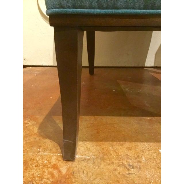 Ambella Home Blue Velvet Gigi Slipper Chairs -a Pair For Sale In Atlanta - Image 6 of 8