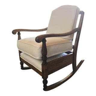 1920s Vintage Kroehler Rocking Chair For Sale