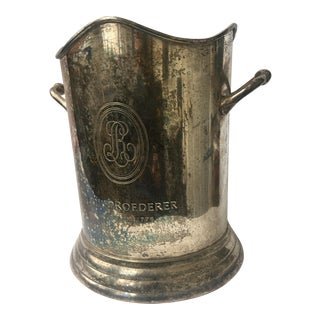 Louis Roederer Silvered Champagne Bucket