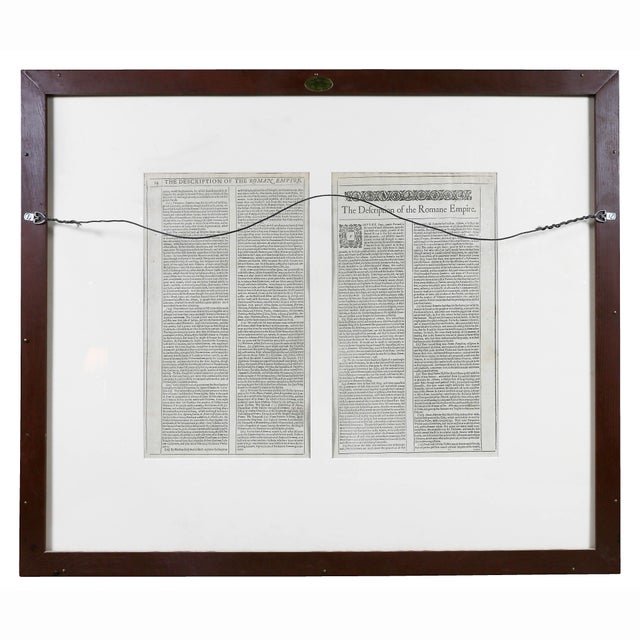 Framed Map of Roman Empire For Sale - Image 10 of 11