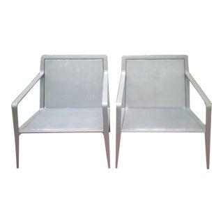 Brown Jordan Richard-Richard Frinier Still Lounge Chairs- a Pair For Sale