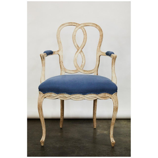 Modern Pair of Bergere Chairs For Sale - Image 3 of 9