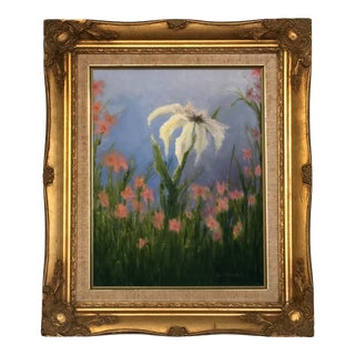 Beautiful L Stovall Painting on Canvas For Sale