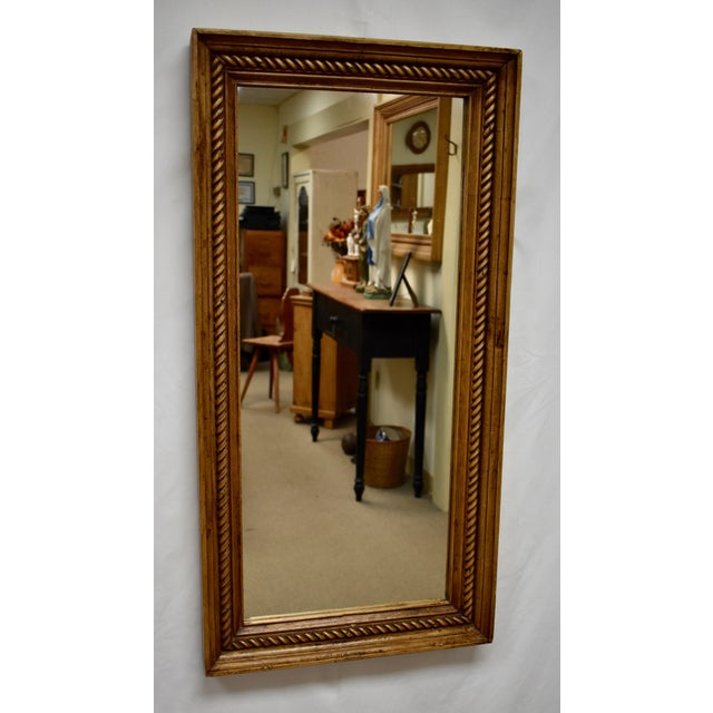 Pine Framed Rope Twist Mirror For Sale In Washington DC - Image 6 of 6