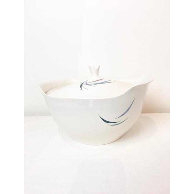 Mid-Century Modern Vintage 1950s Raymor Universal Sans Souci Pattern Ben Seibel Soup Tureen For Sale - Image 3 of 7