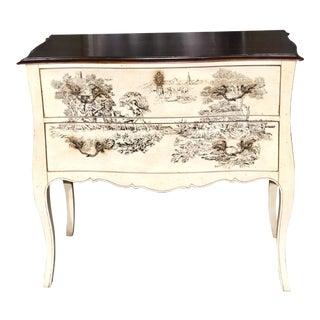 French Country Century Furniture Side Table For Sale