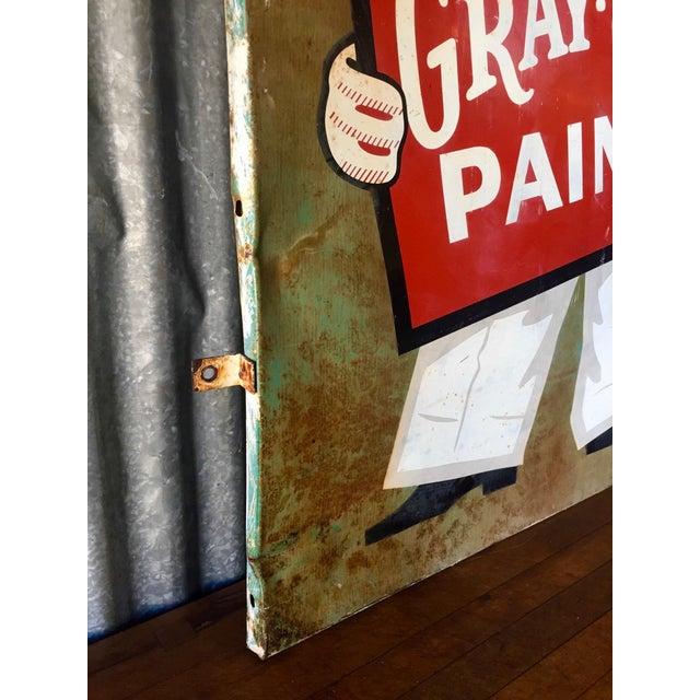 Vintage Original Gray-Seal Paints Sign - Image 7 of 10