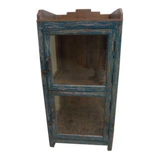 Antique Primitive Display Cabinet