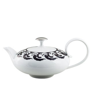 """Vogelkolonie"" Tea Pot Platinum by Koloman Moser & Ena Rottenberg For Sale"