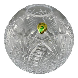 Waterford Crystal Seahorse Pattern Rose Bowl For Sale