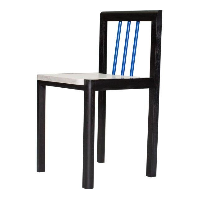 Steven Bukowski Contemporary Piano Chair in Lacquered Ash For Sale
