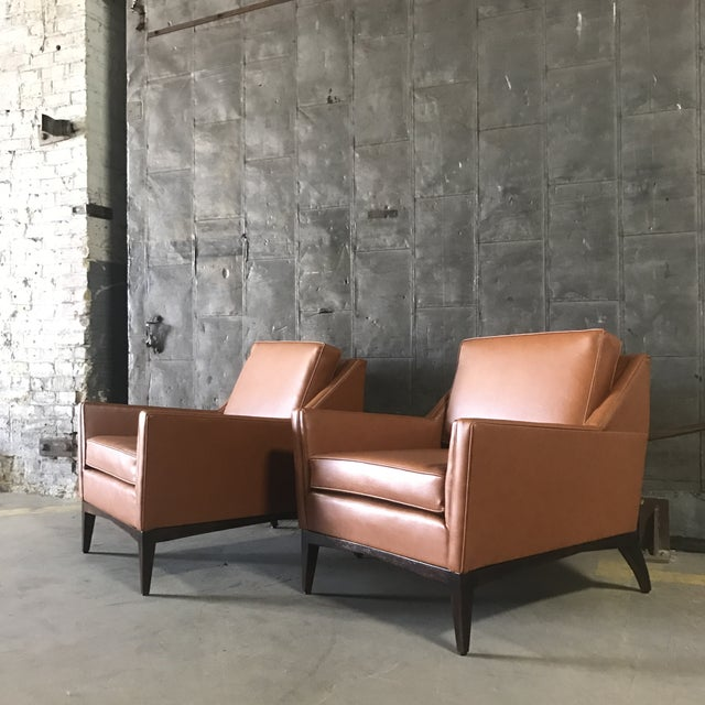Mid-Century Modern Lounge Chairs - A Pair - Image 6 of 9