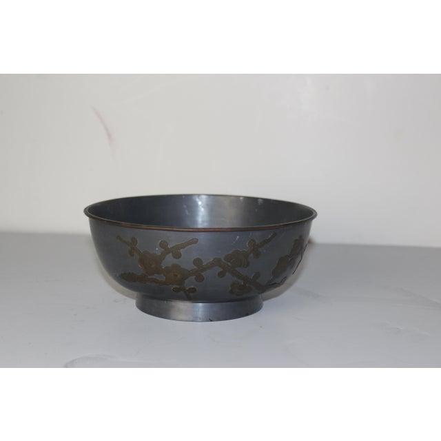 1940's decorative bowl. Made in Hong Kong.