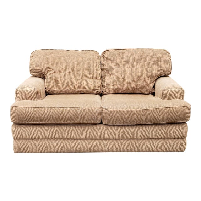 Clean Contemporary La-Z-Boy American Home Collection Upholstered Loveseat  Sofa