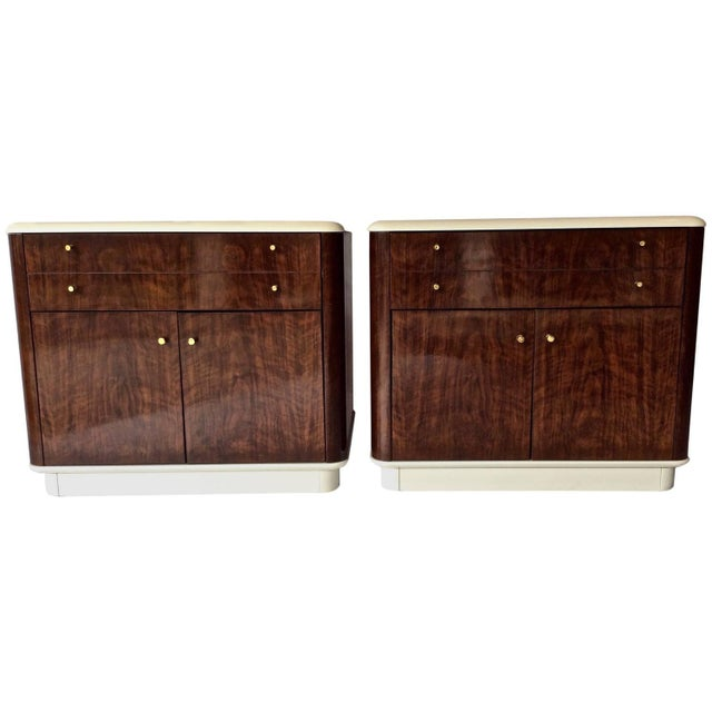 Mid-Century Drexel Nightstands - A Pair - Image 1 of 10
