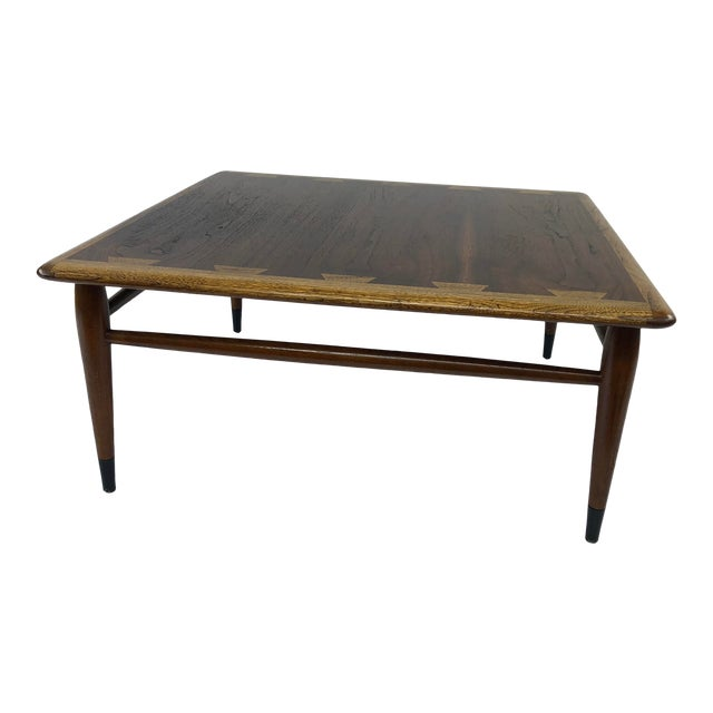 Mid Century Modern Lane Acclaim Square Coffee Table Chairish