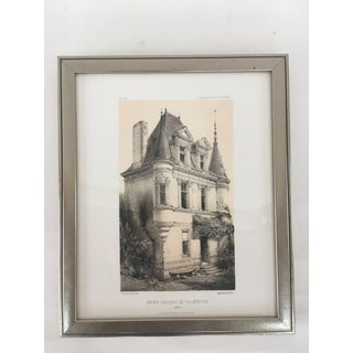 Framed French Architectural Prints - Pair Preview